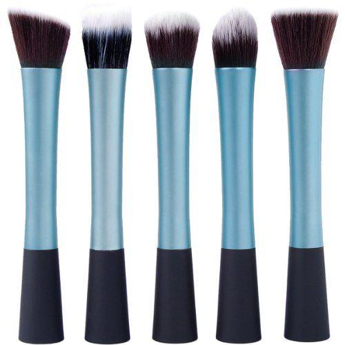 LuxeBell® Kit de Pinceau maquillage Professionnel 5PCS Ombre à Paupière bleu Blush Fondation Pinceau Poudre Fond de teint Anti-cerne | Your #1 Source for Beauty Products