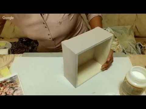 О.Жебчук. Коробочка для сладостей - YouTube