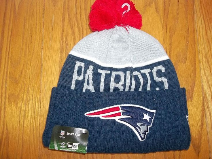 80f7fe472 ... sale new england patriots new era knit hat on field sideline beanie  stocking cap 2015 24965