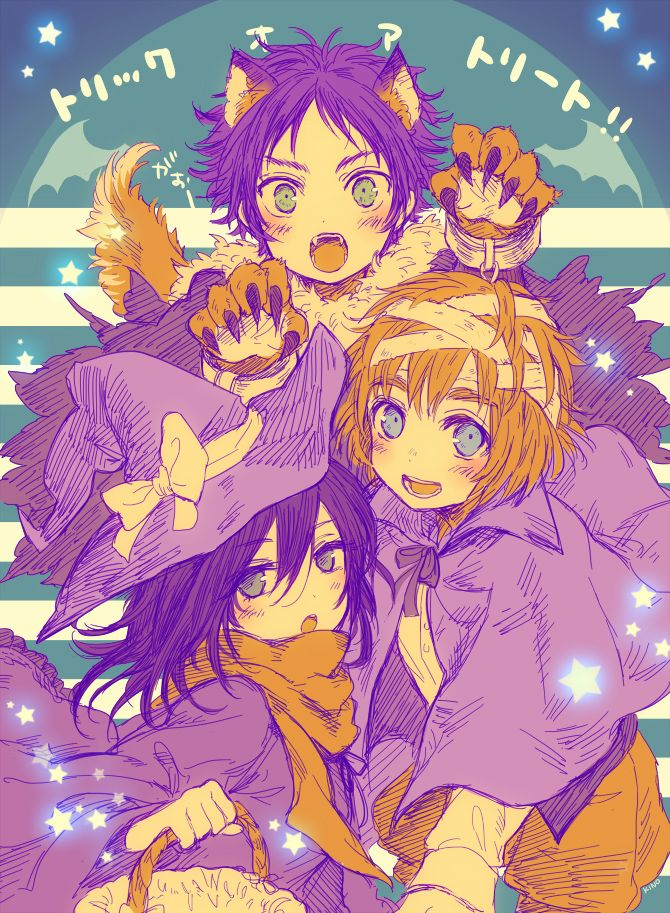 Tags: Anime, Shingeki no Kyojin, Mikasa Ackerman, Eren Jaeger, Armin Arlert