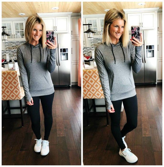 Zella Hoodie + Zella Leggings + Nike