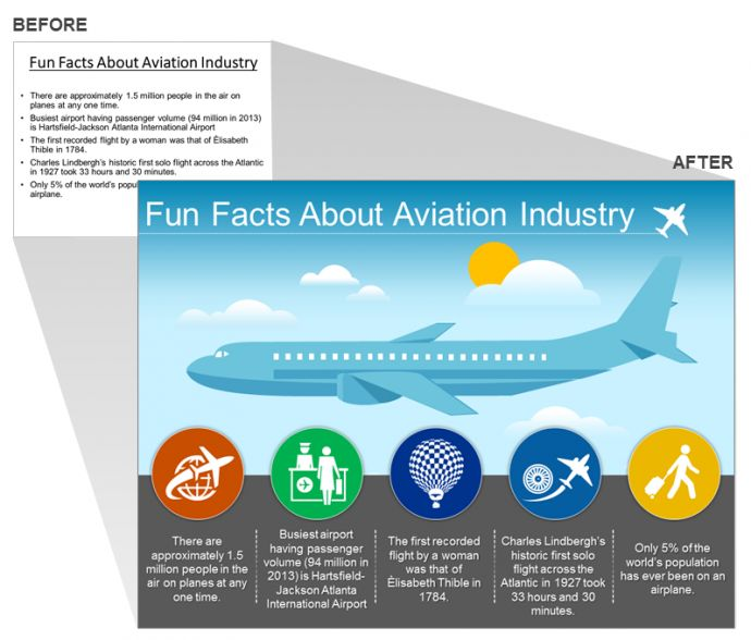 Aerospace/ Aviation Industry Presentation Slide