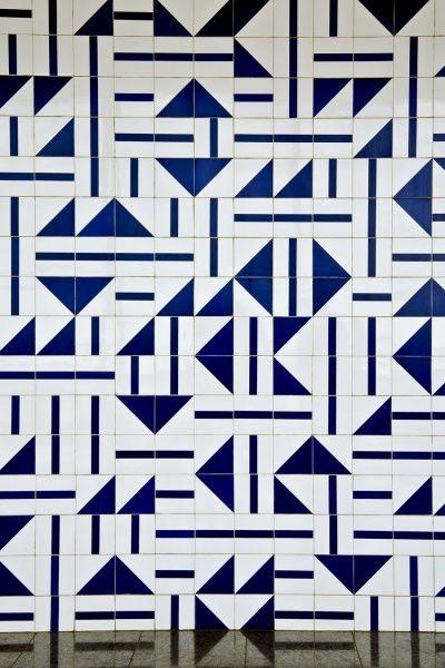 Pattern Tiles Brasil | Oscar Niemeyer
