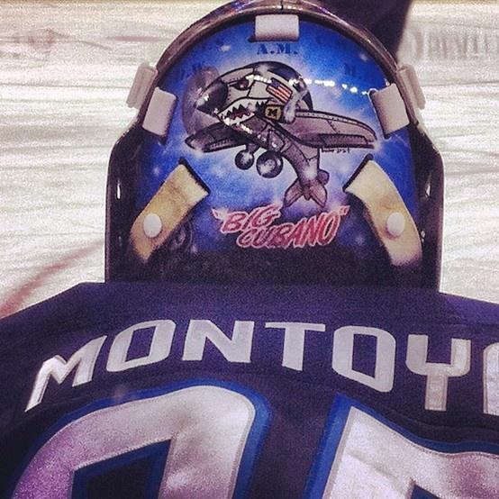 "Al Montoya ""Big Cubano""  Winnipeg Jets goalie"