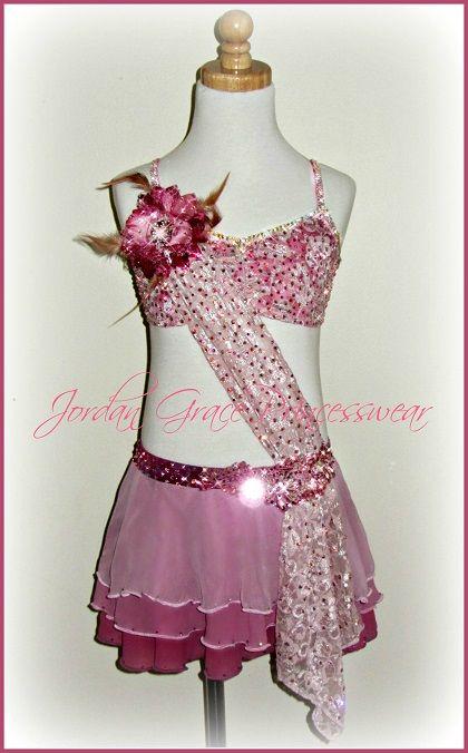 """The Rose""-Jordan Grace Princesswear custom dance costume -"