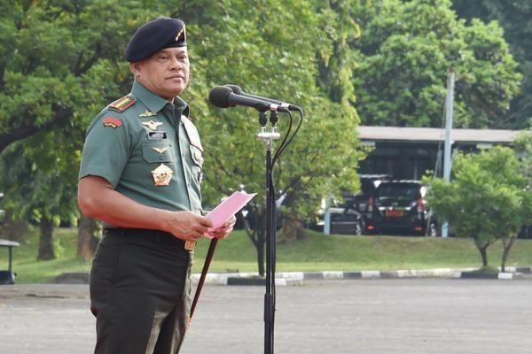 2017, Jenderal Gatot Fokus Berantas Pejabat Korup di Lingkungan TNI