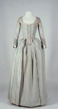 Damenkleid:  1770-1780