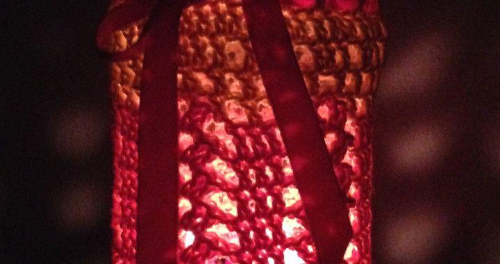 lanterna sfumata notturno - come farle a seconda delle dimensioni del vaso! - spiegazioni su gomitolorosso.it