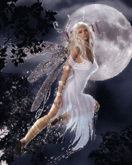 What a glorious Faerie! Can't you just feel the magic! I remember doing a meditation once where I was a faerie skipping across a pond leaving trails of sparkles wherever I went. FUN! http://www.magnificentu.com