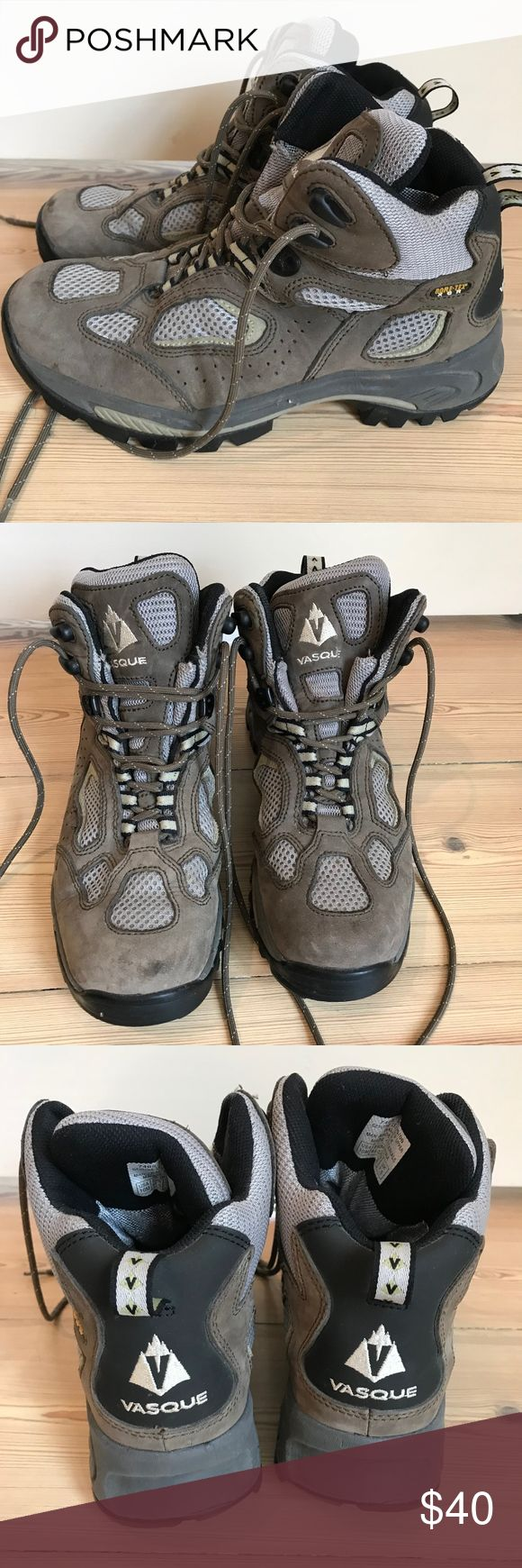 Vasque Hiking boots Vasque hiking boots. Only used twice.  Great condition. Vasque Shoes Ankle Boots & Booties