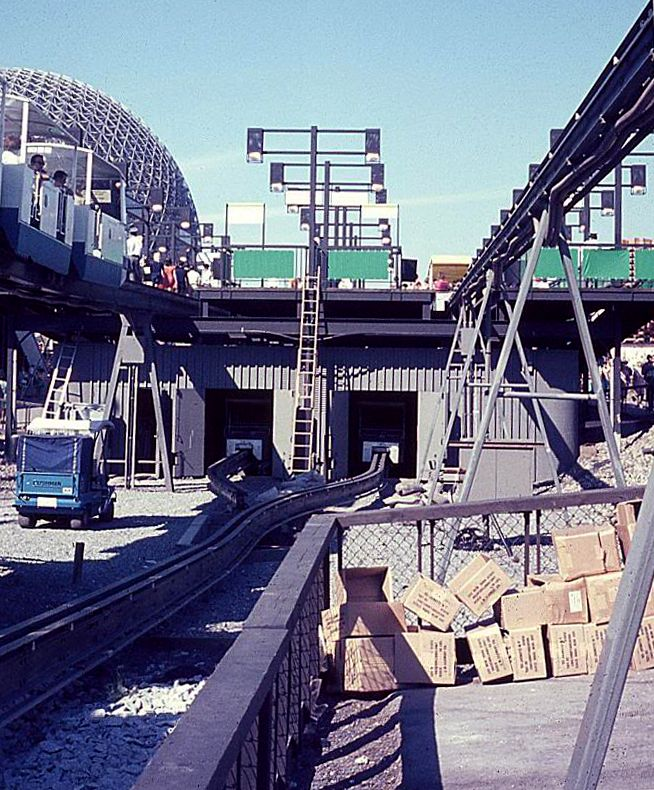 Expo 67 Monorail Garage