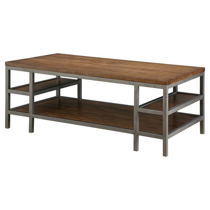 Taverly Coffee Table Dark Oak   Furniture Of America, Dark Brown Part 97