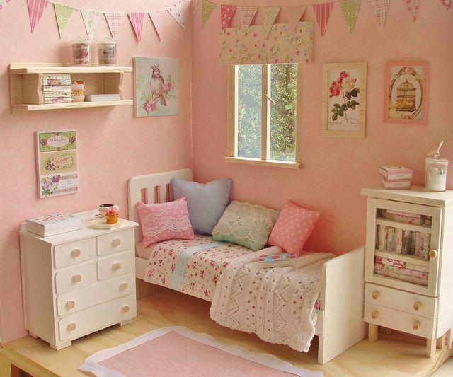 Sweet mini bedroom