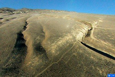 Thumbnail image of interactive San Andreas Fault movie