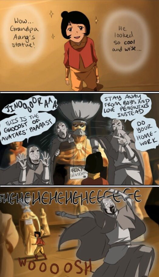 The Legend Of Korra Jinora Has No Idea What Her