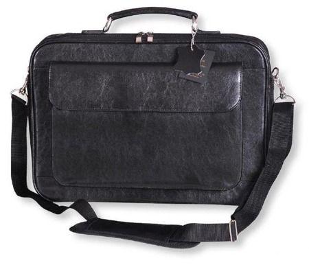 Gustowna teczka na laptopa Galskór M-541 wykonana z naturalnej skóry. Posiada obszerną komorę na laptopa wyklejoną pianką i podszewką oraz sztywną przegrodę zapinaną na rzep stanowiącą dodatkowe zabezpieczenie. Rozmiar: 43 x 30 x 7 cm
