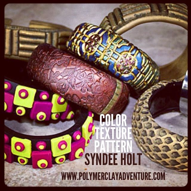SyndeeHoltPolymerClayAdventure2015 - Photos - Polymer Clay Adventure