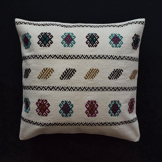 White Kussenhoes 26x26 Pillow Coussin Boheme 26 Pillow Cover