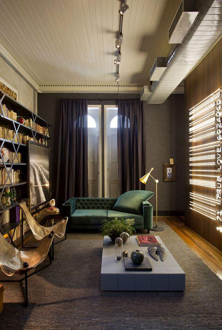 Une décoration tendance pleine d'originalité et de créativité fait du séjour un…