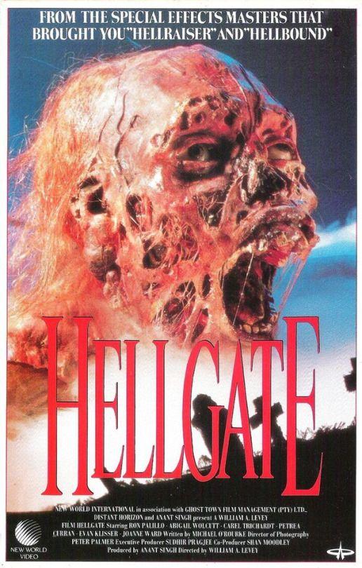 Hellgate (1989)  Dir. William A. Levey   Ron Palillo, Abigail Wolcott, Petrea Curran