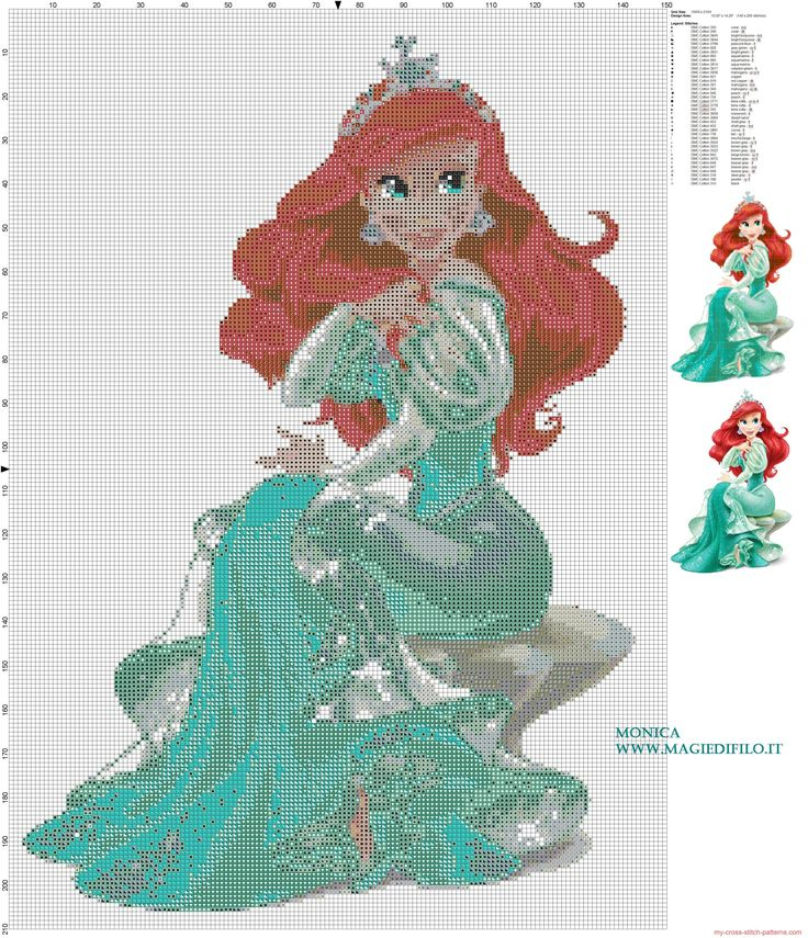 Disney Cross Stitch Patterns | ... cross stitch pattern 150x210 39 colors...free pattern of Disney's