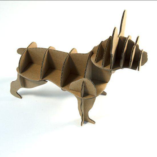 Milimetrado Mini Franse Bulldog van karton €16,95 bol.com