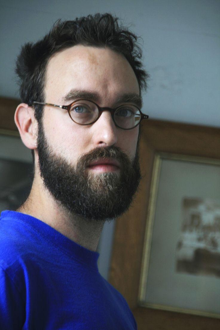 Artist Gareth Bate #beard #men #artist http://www.garethbate.com/