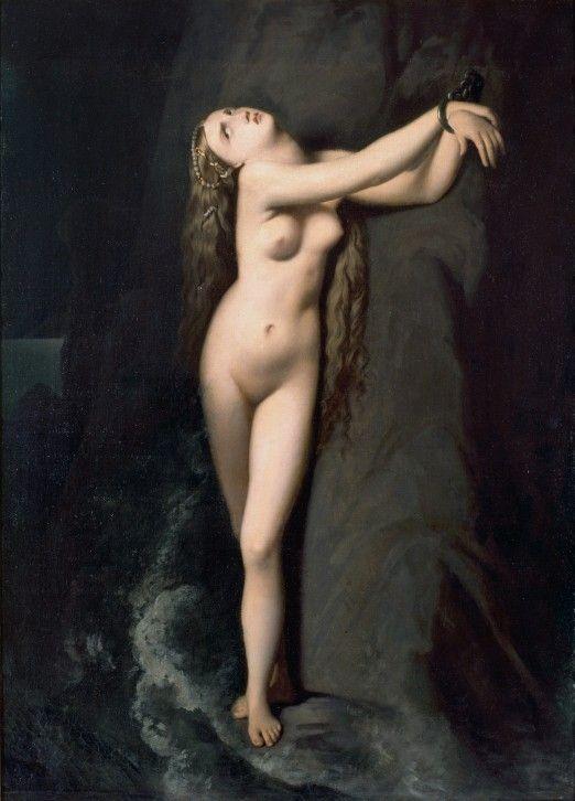 Angélique, 1819 - J. A. D. INGRES (Atelier de) (Montauban 1780 - Paris 1867) - 1819