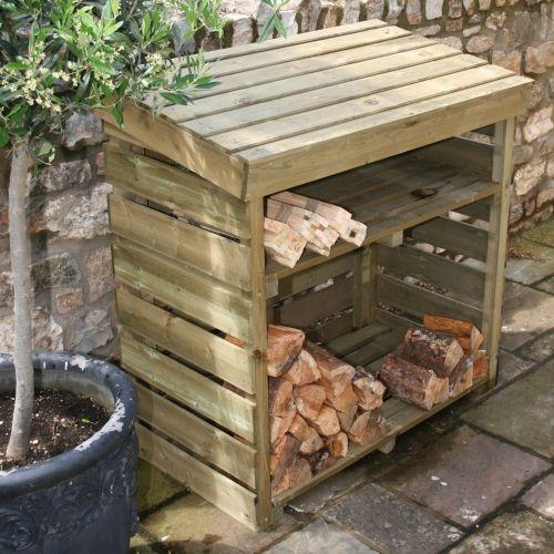 Image result for log store plans diy