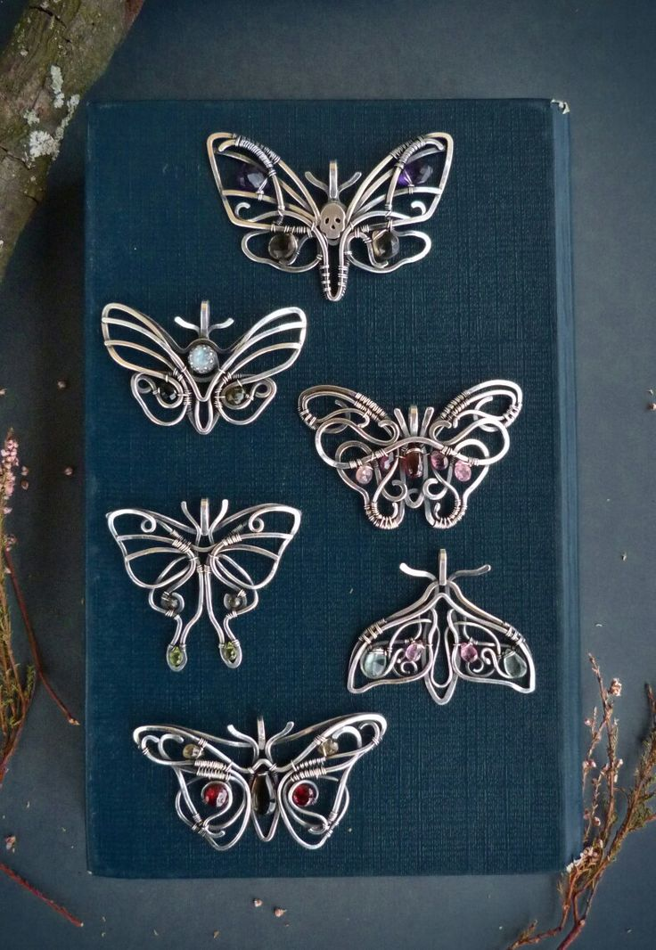Butterfly collection by Ursula Jewelry.