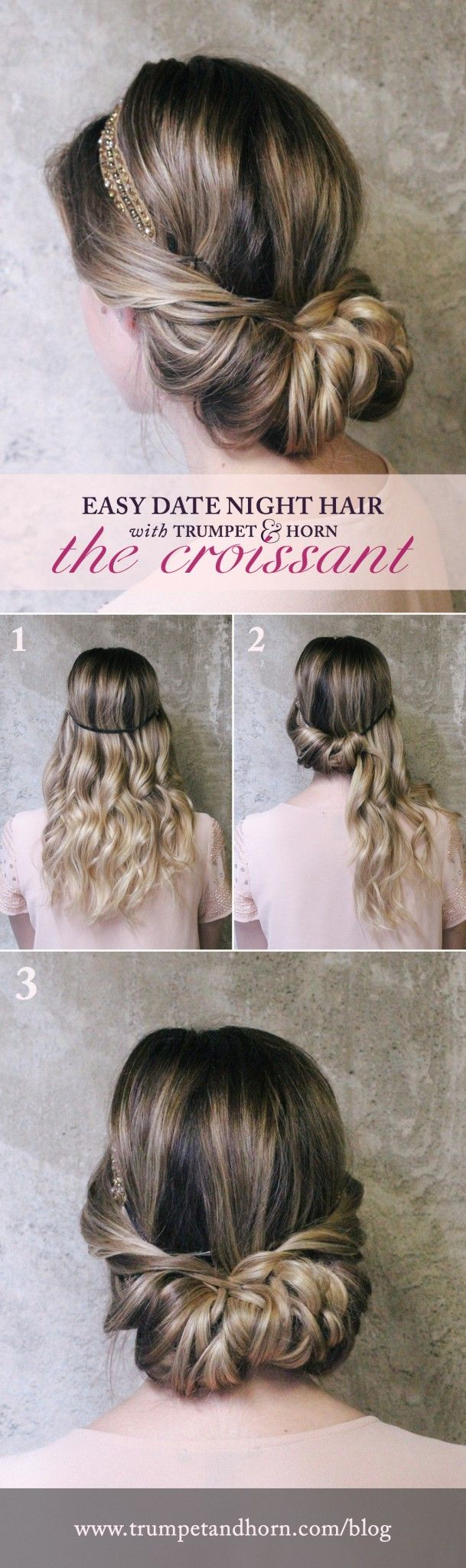 Easy date night hairstyles <3
