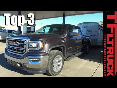 Tested & Reviewed: Top 3 Most Fuel Efficient Trucks Towing & Not Towing - YouTube __ 5 2016 GMC Sierra 6.2L V8 - 10.7 mpg (when towing) 4 2016 Nissan Titan XD TD 5L - 11.1 mpg (when towing) 3 2016 GMC Canyon Duramax 4WD - 12.3 mpg (when towing) 2 2016 RAM Eco-diesel HFE 2WD - 28.76 mpg (not towing) 1 2016 GMC Canyon Duramax 4WD - 31.3 mpg (not towing)