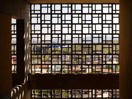 Screens usually made of terracotta, cement, wood etc can add beauty as well as privacy to your balcony.