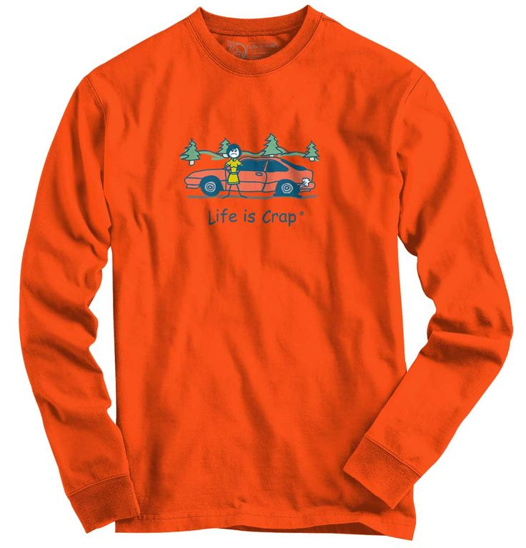 Flat Tire Long Sleeve Tee