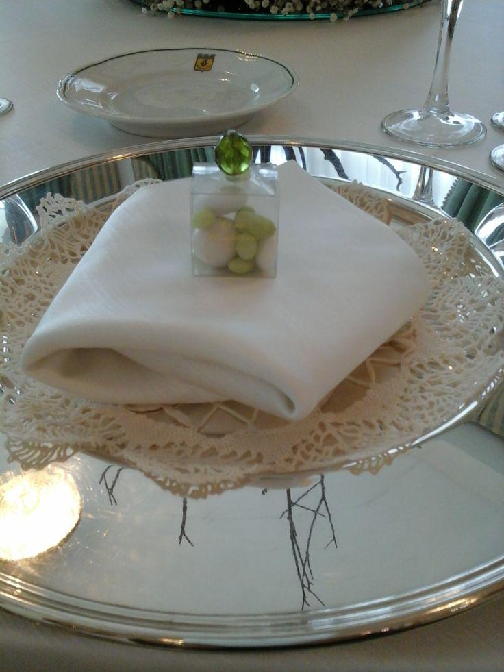 Segnaposto Matrimonio Rustico : Caramelle confetti fiori segnaposto matrimonio