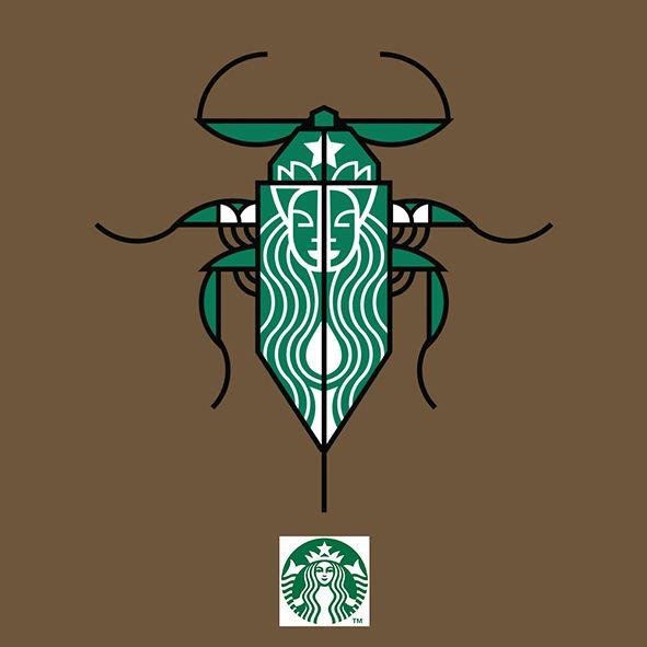 Starbucks by Kickatomic