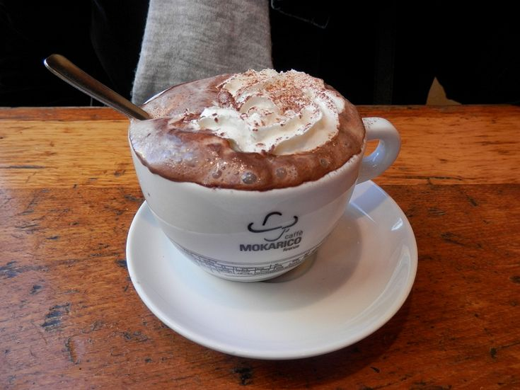 Thick, rich, creamy and decadent Italian Style Hot Chocolate
