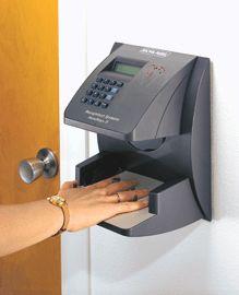 In what James Bond movie is biometric scanning (fingerprint, hand, iris scanners, etc.) first used?