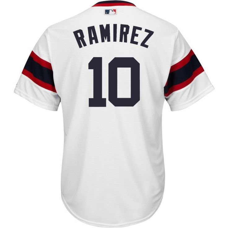 CHICAGO WHITE SOX COOL BASE ALEXEI RAMIREZ MENS REPLICA RETRO (1983) JERSEY