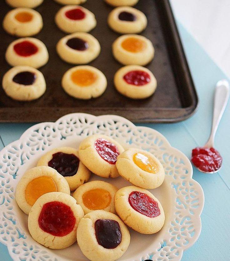 بتيفور العيد طريقة عمل البيتى فور طريقة عمل البيتي فور طريقة عمل البيتي فور منال العالم طريقة عمل Jam Thumbprint Cookies Thumbprint Cookies Recipe Jam Cookies