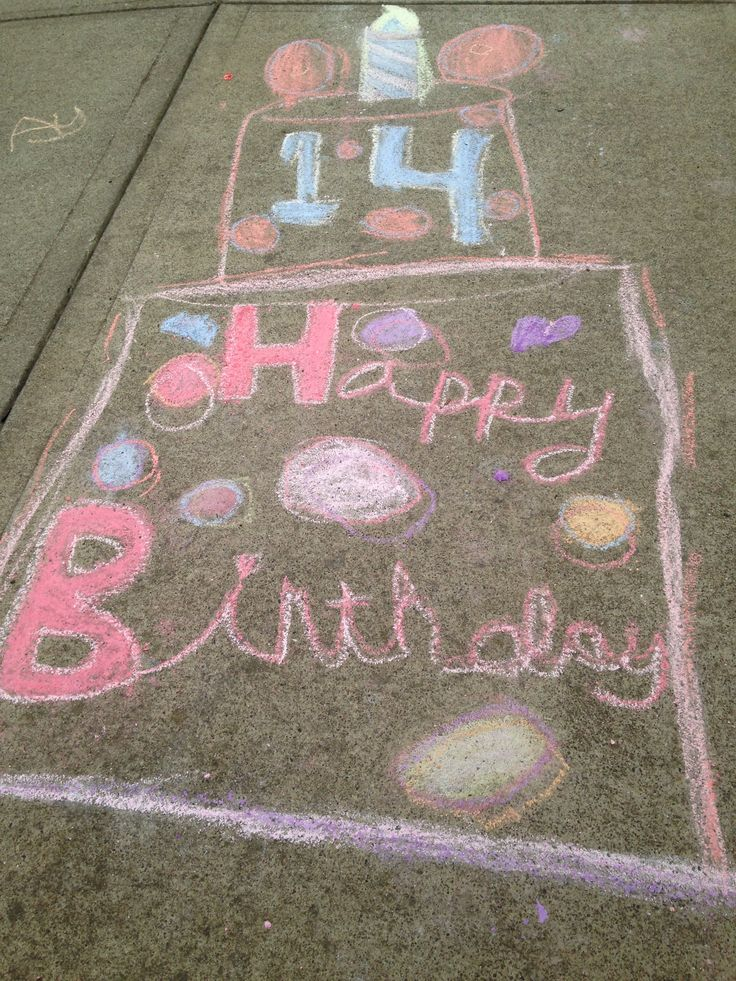 78 best images about Sidewalk Chalk
