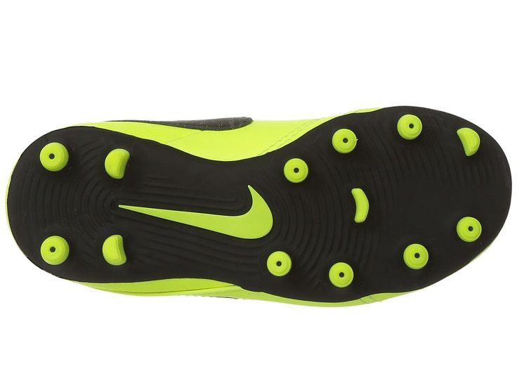 Nike Kids Jr Tiempo Rio III FG Soccer (Toddler/Little Kid) Kids Shoes Volt/Black/Volt