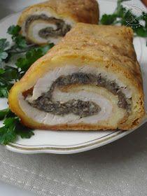 rolada serowa, rolada drobiowa, rolada serowa z pieczarkami, wędlina do chleba, piersi z kurczaka, ser żółty, pieczarki, majonez, świąteczna rolada,