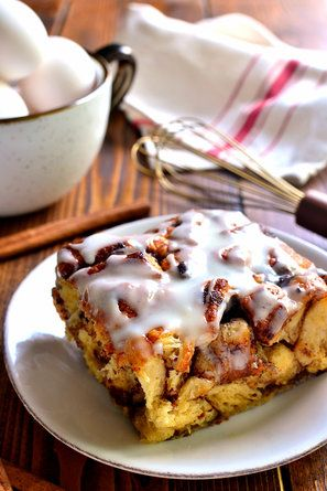 Cinnamon Roll French Toast Casserole   - These French Toast Recipes Are Breakfast Game Changers
