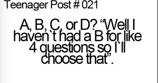 Teenager Post | ~relatable~ | Pinterest | Posts, Teenager posts and Teenagers