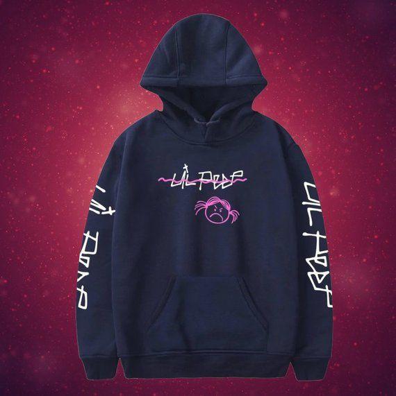 Amke LiPeep Logo Unisex Fashion Print Hoodie Sweatshirt Tops