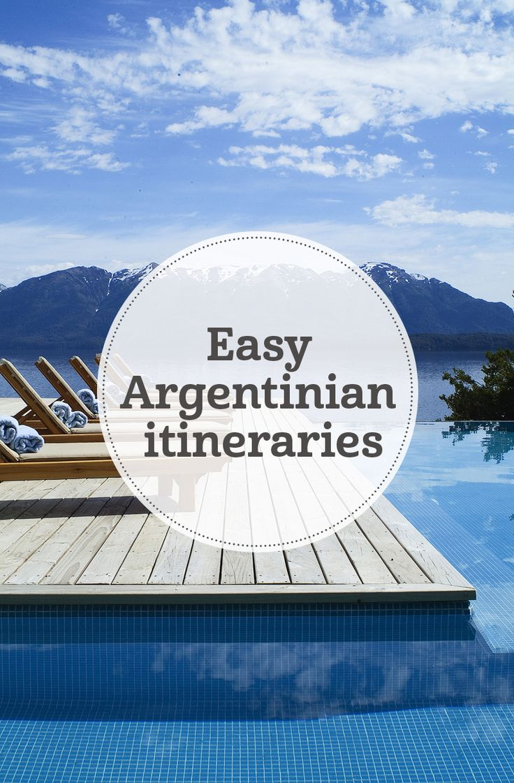 i-escape blog / Easy Argentinian itineraries