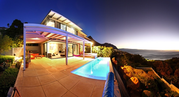 Panoramic view on very private  plot in Llandudno.