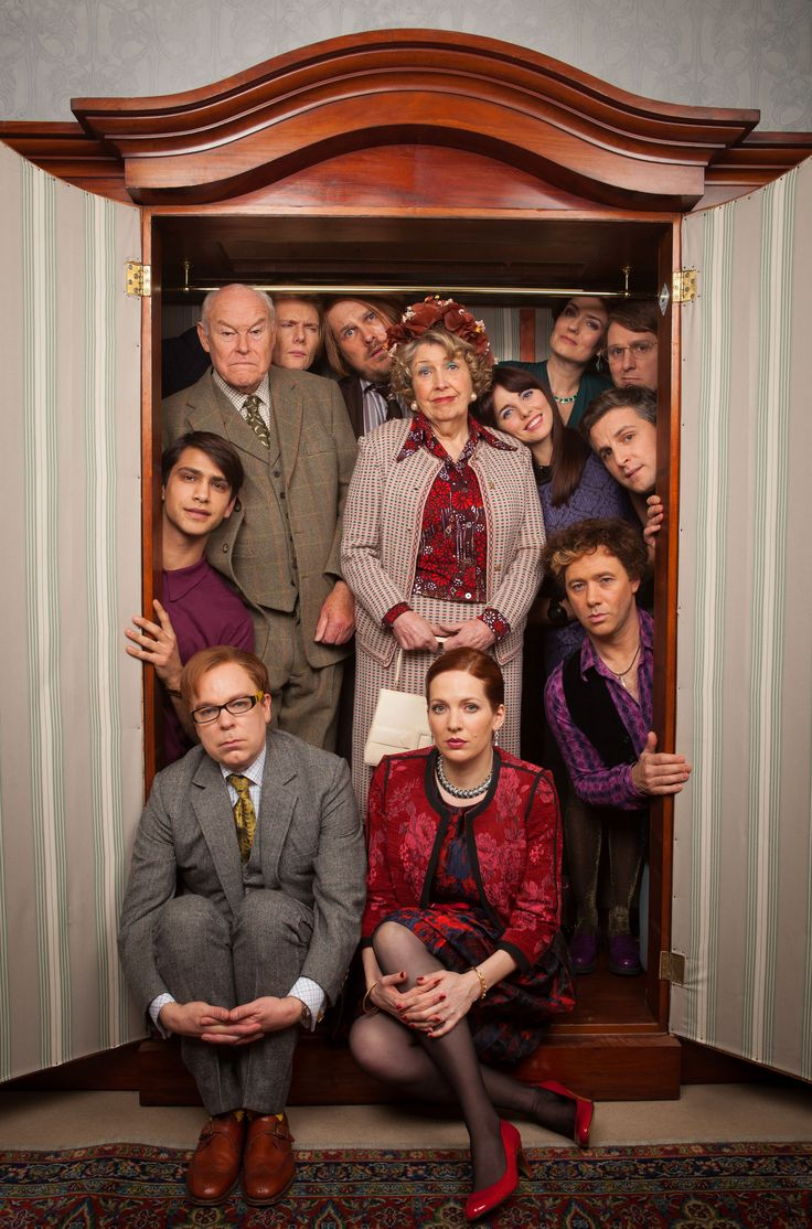 Inside number nine. Comedy drama. Funny in places but more about unspoken horror of life behind closed doors. Have watched the first 4 episodes. They are worth a watch if you like dark humour.