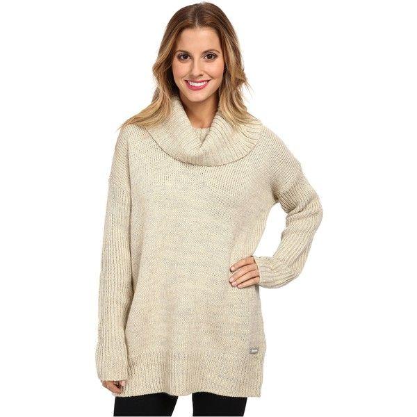 Bench Snugglehug Jumper Womenu0026#39;s Sweater White featuring polyvore womenu0026#39;s fashion clothing ...